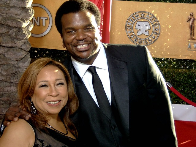 Craig Robinson and Tanya Hart