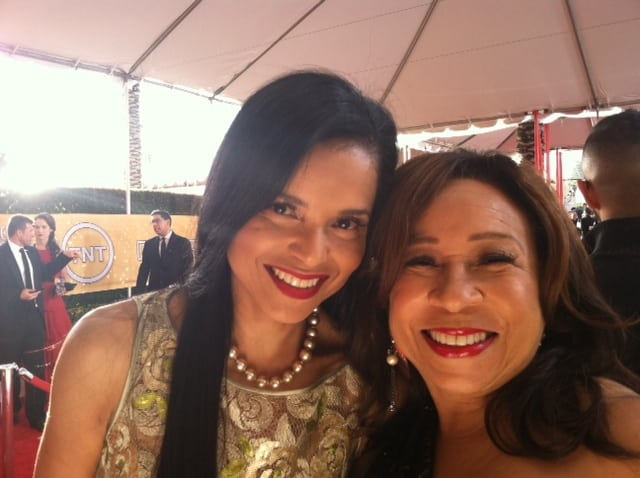 Victoria Rowell and Tanya Hart