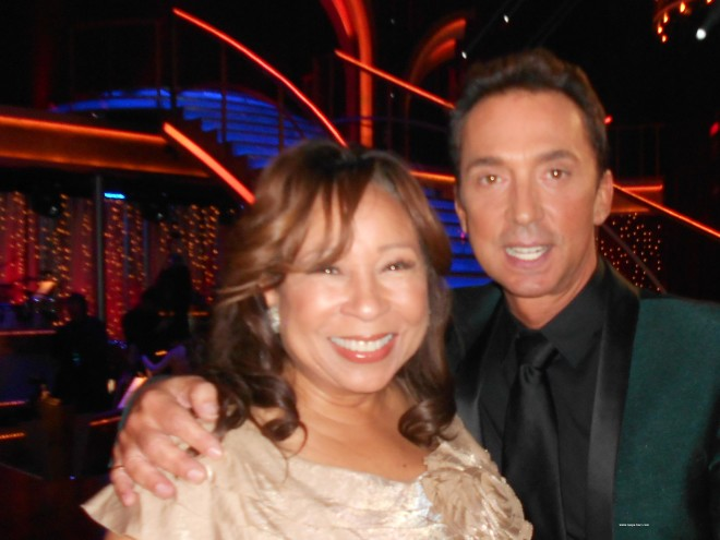 Tanya Hart and DWTS Judge Bruno Tonioli