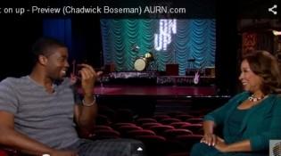 """Chadwick Boseman and Tanya Hart """"Get On Up"""""""