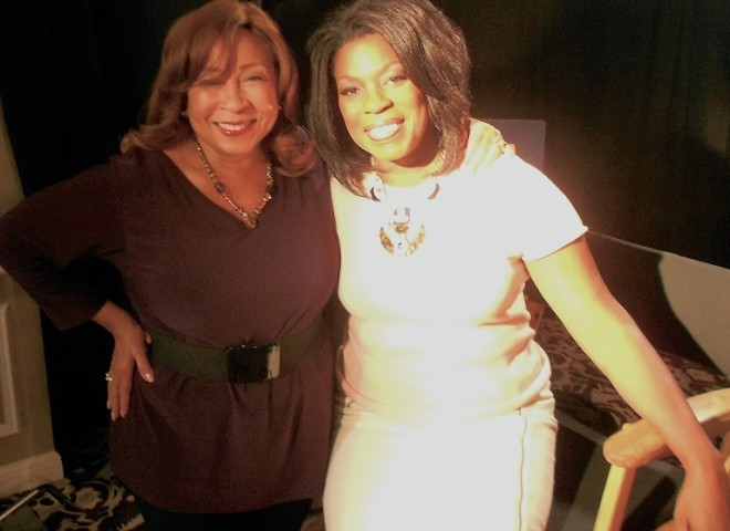 Tanya Hart and Lorraine Toussaint