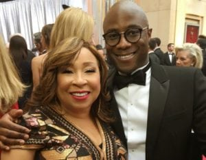 Tanya Hart and Moonlight Director Barry Jenkins Oscars 2017